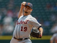 Starting pitcher Anibal Sanchez #19 of the Detroit