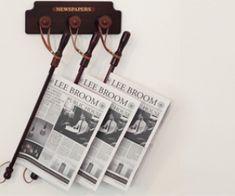 Soporte para diarios & revistas en los cafés..!