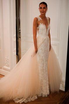 Robe de mariée Monique Lhuillier - Bridal Fashion Week 2016 : les plus belles robes de mariée