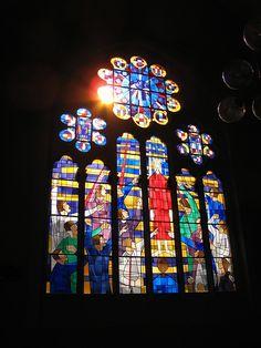 Oranier-Gedächtniskirche in Wiesbaden-Biebrich - Christus vor Pilatus by amras_de, via Flickr