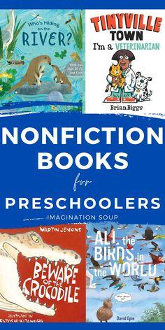 Preschool Age, Homeschool Kindergarten, Preschool Books, Toddler Books, Childrens Books, Nonfiction Books For Kids, Teaching Reading, Learning, Read Aloud