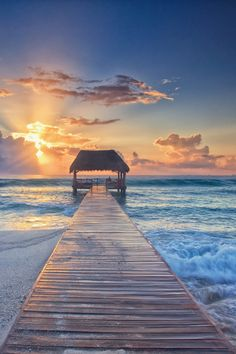 The beach at sunset is my Heaven, so peaceful, quiet, a perfect place for my one on one with God!!