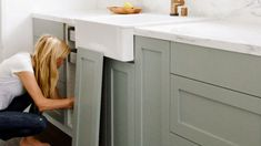 The ultimate Ikea hack? Update Ikea kitchen cabinets with these stylish fronts for a quick and budget-friendly kitchen remodel. Natural Wood Kitchen Cabinets, Custom Kitchen Cabinets, Kitchen Cabinet Doors, Painting Kitchen Cabinets, Farmhouse Cabinets, Diy Cabinets, Bathroom Built Ins, Handmade Cabinets, Custom Cabinet Doors