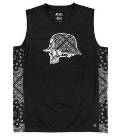 """Metal Mulisha Men/'s Jersey Tank Top /""""Beer Hunter/'/'--Black"""