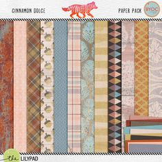 Cinnamon Dolce Paper Pack by Amy Wolff