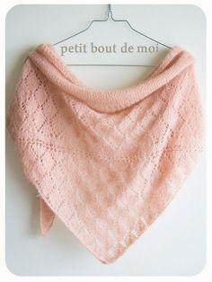 PDF Patron tricot Châle Temperance : Tutoriels de fabrication par petit-bout-de-moi