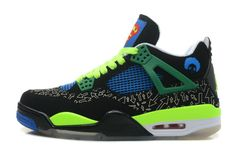 new york 8440e e2822 Authentic Cheap Air Jordan 4 Fast Shipping Authentic Cheap Air Jordan 4  Retro Doernbecher Superman Black Old Royal-Electric Green-White For Sale