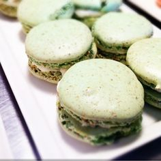 Pistachio Macaroon at Wooden Spoon