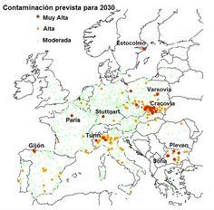 Europa: 430 mil muertes prematuras al año por contaminación del aire