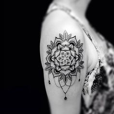 Tattoo designs and meanings, mandala tattoo design, small mandala tattoo, m Mandala Tattoo Design, Dotwork Tattoo Mandala, Small Mandala Tattoo, Sunflower Tattoo Small, Flower Tattoo Designs, Mandala Tattoo Shoulder, 27 Tattoo, Hand Tattoo, Trendy Tattoos