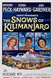 The snows of Kilimandjaro Ava Gardner movie poster #2