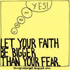 Angst is een slechte raadgever