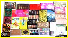 Makeup Palette Collection | Declutter & GIVEAWAY (Win Urban Decay, Coast...