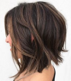 60 Fun and Flattering Medium Hairstyles for Women Brunett. - 60 Fun and Flattering Medium Hairstyles for Women Brunette Shaggy Bob with Su - Curly Hair Styles, Medium Hair Styles, Updo Styles, Medium Bob Hairstyles, Cool Hairstyles, 2015 Hairstyles, Casual Hairstyles, Pixie Haircuts, Wedding Hairstyles