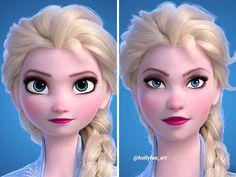 Disney Princesses If They Had Realistic Proportions Merida, Disney S, Disney Movies, Disney Characters, Disney Princesses, Disney Nerd, Rapunzel, Frozen Princess, Elsa Frozen