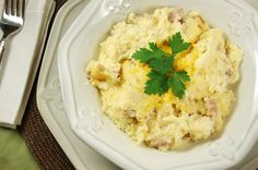 The Kitchen is My Playground: Ham & Cheese Grits Casserole (... & kissing a giraffe)
