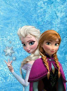 La reine des neiges ..Elza & Anna