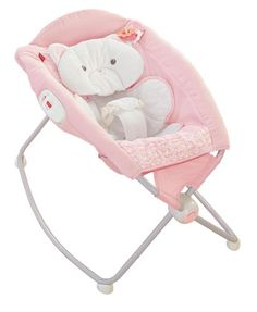 Fisher-Price My Little Snugakitty Deluxe Rock N Play Sleeper Sleeper and playtime seat in one. Comfy incline helps baby sleep. Compact fold for portability and storage. Take it on the go. Insert and pad are machine washable and dryer safe.  #Fisher-Price #BabyProduct