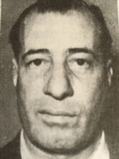 Gambino Salvatore Canepa aka Toto (Palermo 1901). Used to live in Queens, NY but was deported in 1954. Had a wife and son in NYC, was into finance and loan business. Crime sheet mentions theft, criminal conspiracy, armed assault, expelled from France in '36, immigration and narcotic violation in the US. Prominent mafia member one of the largest narcotic smugglers and wholesale dealers in Italy. Purchased from the Corsicans in Marseille before shipping it to the US.