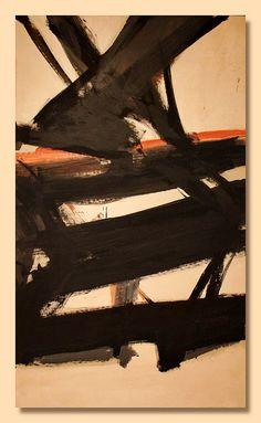 Franz Kline - Horizontal Rust, 1960