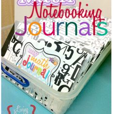 Math Notebooking Journals! Free Printables! | Living Laughing & Loving