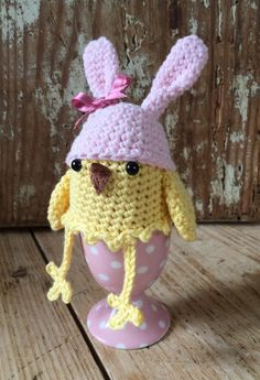 Easter egg cosy by Kate Eastwood