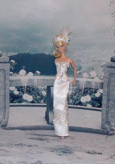 OOAK Winter Romance Handmade Barbie Wedding by MySweetDollBoutique