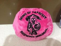 <3 Sons of Anarchy  This wikked cloth nappy was made by Awesome Assettes!  Check them out on FB  http://www.facebook.com/AwesomeAssettes