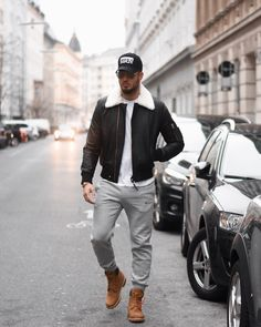 Ideas For Timberland Boats Outfit Winter Swag Casual Timberland Outfits Men, Timberland Mens, Mode Masculine, Casual Winter Outfits, Men Casual, Outfit Winter, Boating Outfit, Menswear, Mens Fashion