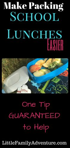 This One Thing Will Make Packing School Lunches Easier - Here's the simple way…