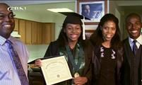 Teenage College Genius Credits God Teresa Neumann - Harlene Israel – CBN - (Aug 30, 2013)  The girl with an I.Q. Of 199 was homeschooled and entered college at the age of 11.  Thessalonika n family(Great Lakes, IL)—Thessalonika Arzu-Embry is preparing to graduate from college. She attends Chicago State University, is majoring in psychology and has a 3.9 GPA. After graduation, she plans on getting a Psy.D in clinical psychology.  By the way, she's 14-years-old.