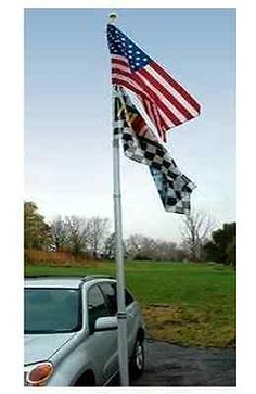 20' #large #diameter aluminum flagpole to go tailgating #telescoping flagpole ld-,  View more on the LINK: http://www.zeppy.io/product/gb/2/381642059657/