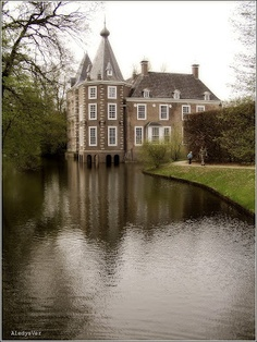 Nijenhuis Castle, location of the Stedelijk (City) Museum Zwolle, the Netherlands