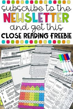 6 Ways to Make Close Reading More Engaging | Fun in 5th Grade