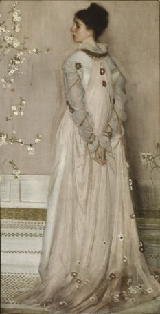 James McNeill Whistler (1834–1903), Symphony in Flesh Colour and Pink: Portrait of Mrs Frances Leyland, 1871–74, oil on canvas, The Frick Collection, New York