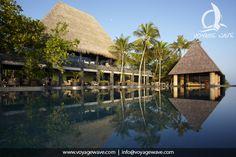 Anantara Kihavah resort, Maldives - swimming pool in paradise