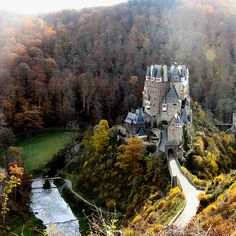 Burg Eltz Castle, Germany—the picture almost doesn't do the place justice, it's amazing in real life...