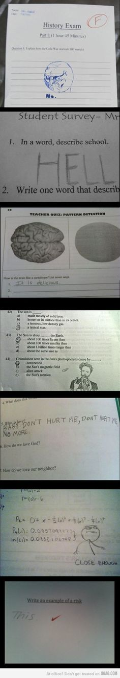 school answers