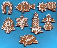 Výsledek obrázku pro the scandinavian christmas market Gingerbread Cookies, Christmas Cookies, Biscuits, Scandinavian Christmas, Cookie Decorating, Christmas Time, Cake Recipes, Food And Drink, Cooking