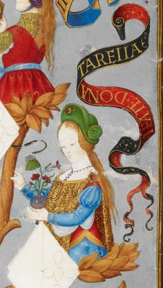 1530-1534 File:D. Teresa de Portugal, Condessa da Flandres - The Portuguese Genealogy (Genealogia dos Reis de Portugal).png