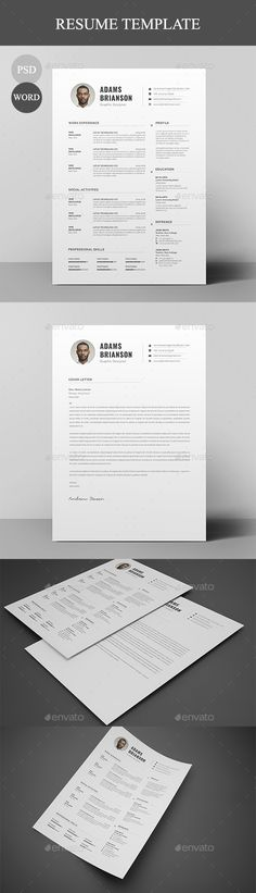 Sample Customer Service Resume Pdf Resumecv  Resume Cv Fonts And Cv Template Cpa Resumes with Teen Job Resume Resume  Resumes Stationery Download Here Httpsgraphicrivernet Filling Out A Resume Word