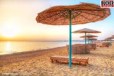 Sandstrände soweit das Auge reicht! In Ägypten einfach mal die Seele baumeln lassen. #bucherreisen #Ägypten