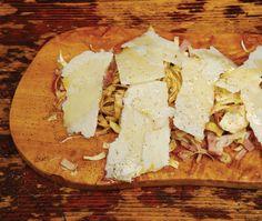 David Rocco's Raw Artichoke Salad Recipe