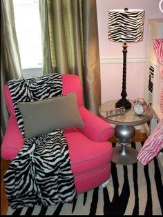 Zebra print stuff