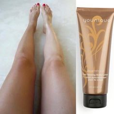 Younique's self-tanning lotion! Light citrus scent, naturally based with coconut oil and green tea extract!