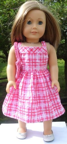 American Girl Doll 18 inch doll clothes  Pink by SarahAnnDoll, $8.50