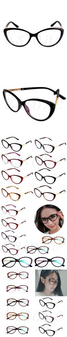 New Women Optical Glasses Spectacle Frame Cat Eye Eyeglasses Anti-fatigue Computer Reading Glasses Eyewear Oculos Glasses frames