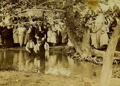pictures of appalachian baptisms | Baptizing in Kentucky 1920s