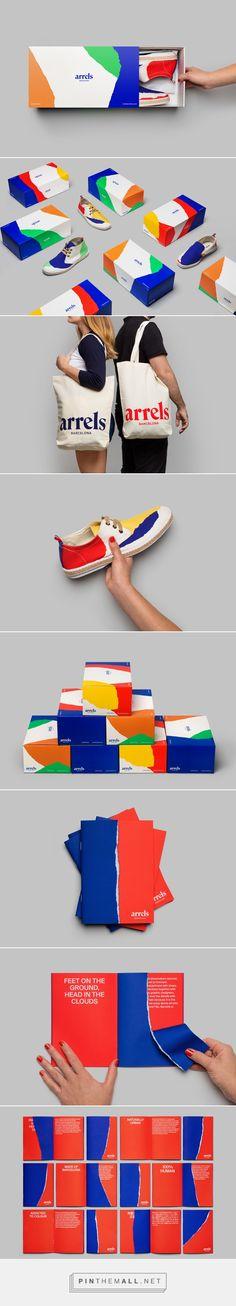 Arrels on Behance, shoe box package