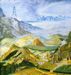 Middle-Earth by Linda and Roger Garland